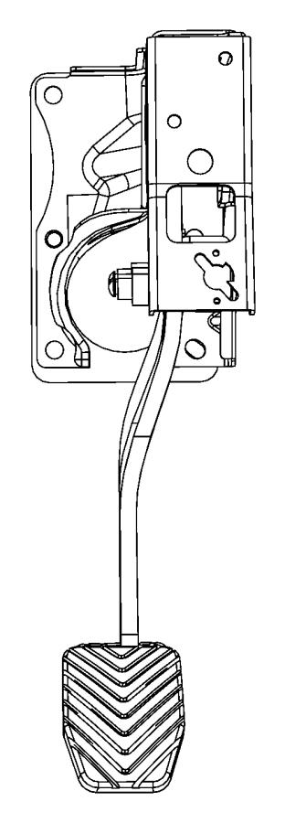 Dodge Caliber Pedal. Brake. Right hand drive. Def, manual