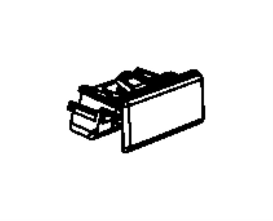 2011 Dodge NITRO Latch. Glovebox door. Trim: [all trim