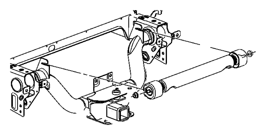 Dodge Ram 2500 Damper. Mass. Box, cargo, engine