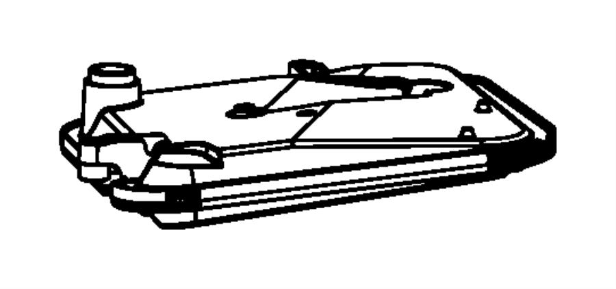 Dodge Caliber Filter, filter kit. Transmission oil. Body