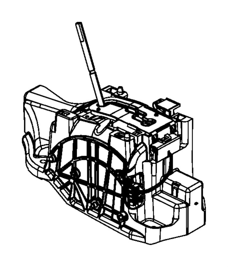 Dodge Challenger Shifter. Transmission. After 3/31/08, up