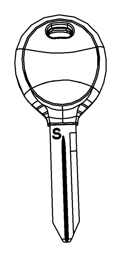 2010 Dodge Viper Key. Blank. Viper logo. Keys, fobs