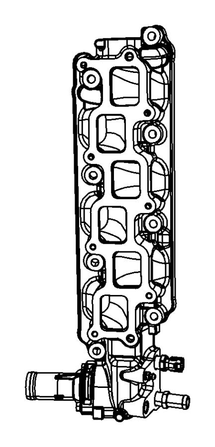 Dodge Grand Caravan Manifold. Intake. Lower. Engine