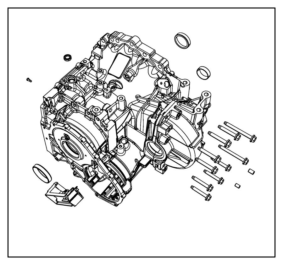 2008 Chrysler Sebring Screw, used for: screw and washer