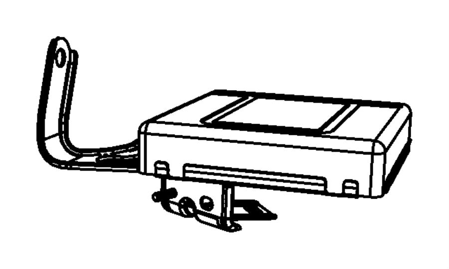 Dodge Grand Caravan Module. Transmission control. Generic