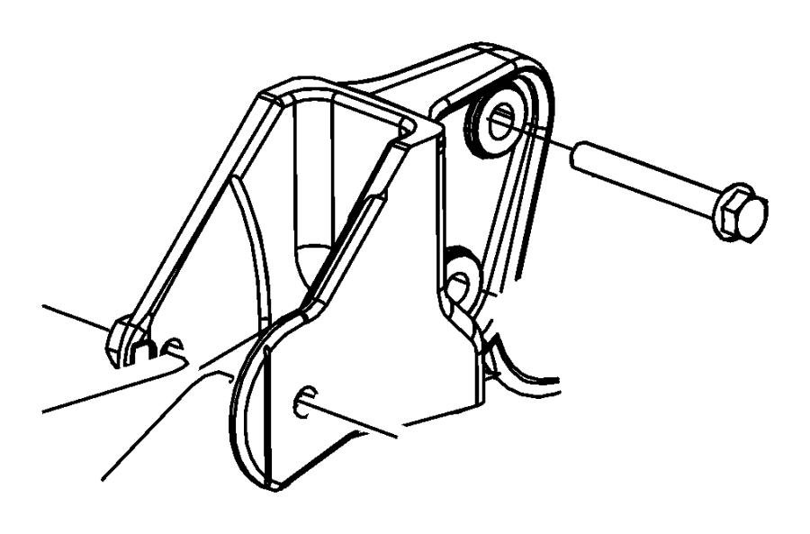Jeep Patriot Bolt. Hex flange head. M12x1.25x59.00