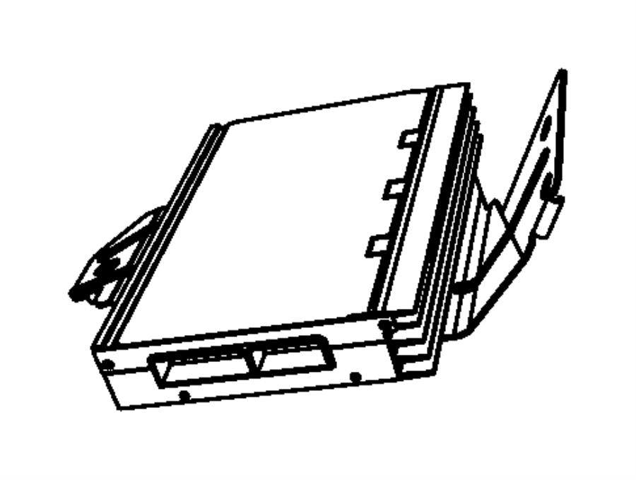 Chrysler 200 Bracket. Amplifier. [276w boston acoustic