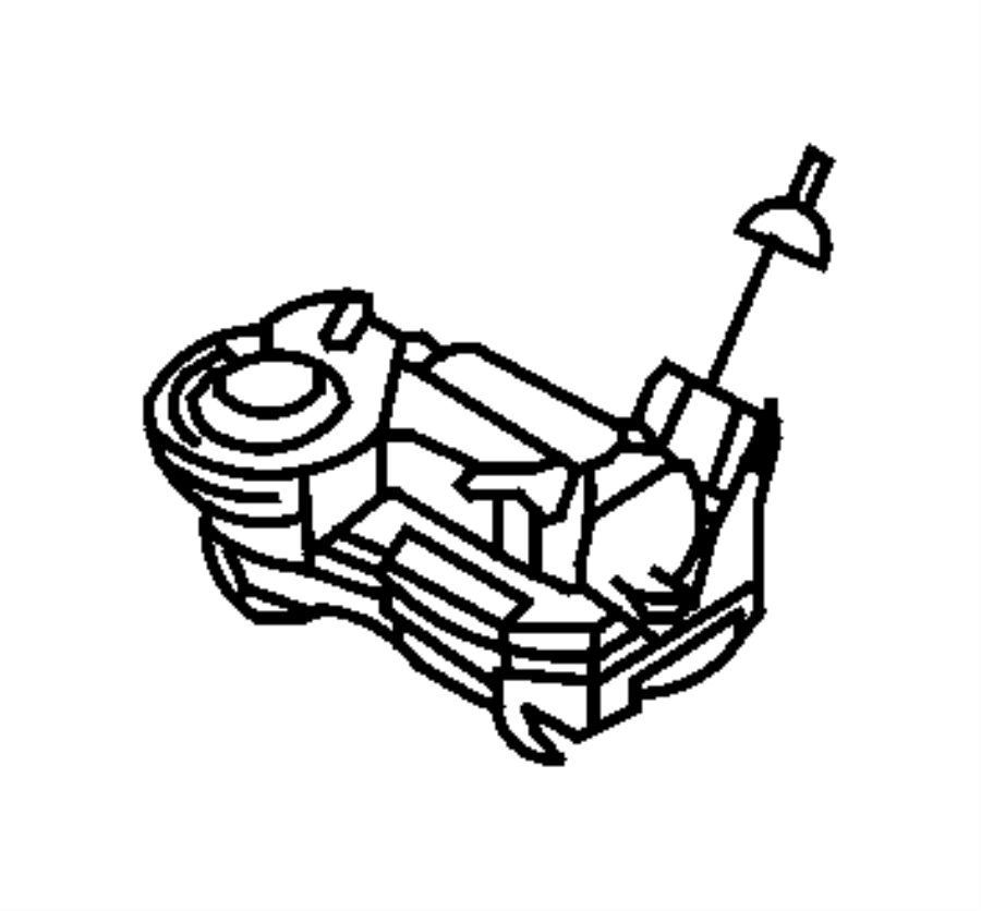 Dodge SPRINTER Module. Steering control. Bag, air, impact