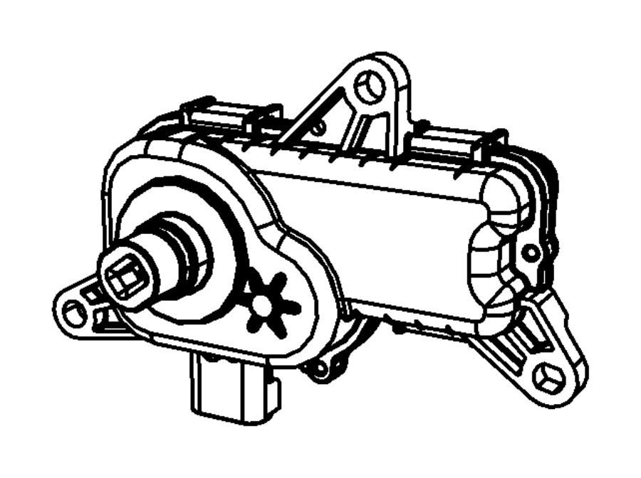 2016 Ram 1500 Actuator. Intake short running valve. Crew