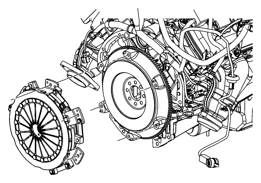 2010 Dodge Challenger Clutch kit. Used for: pressure plate