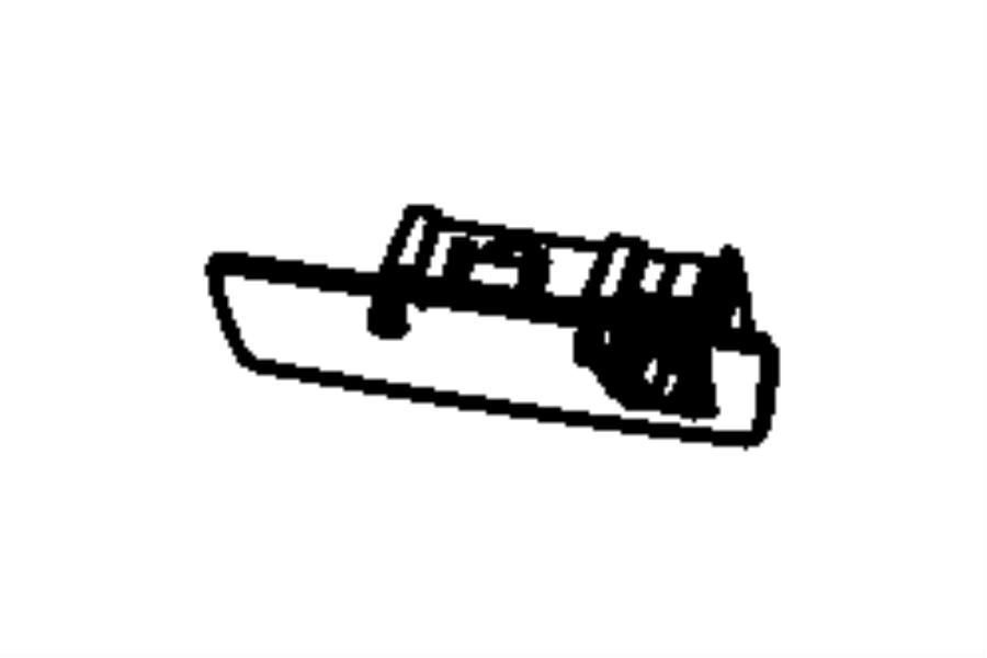 2009 Dodge Charger Latch. Glovebox door. [db]. Trim: [all