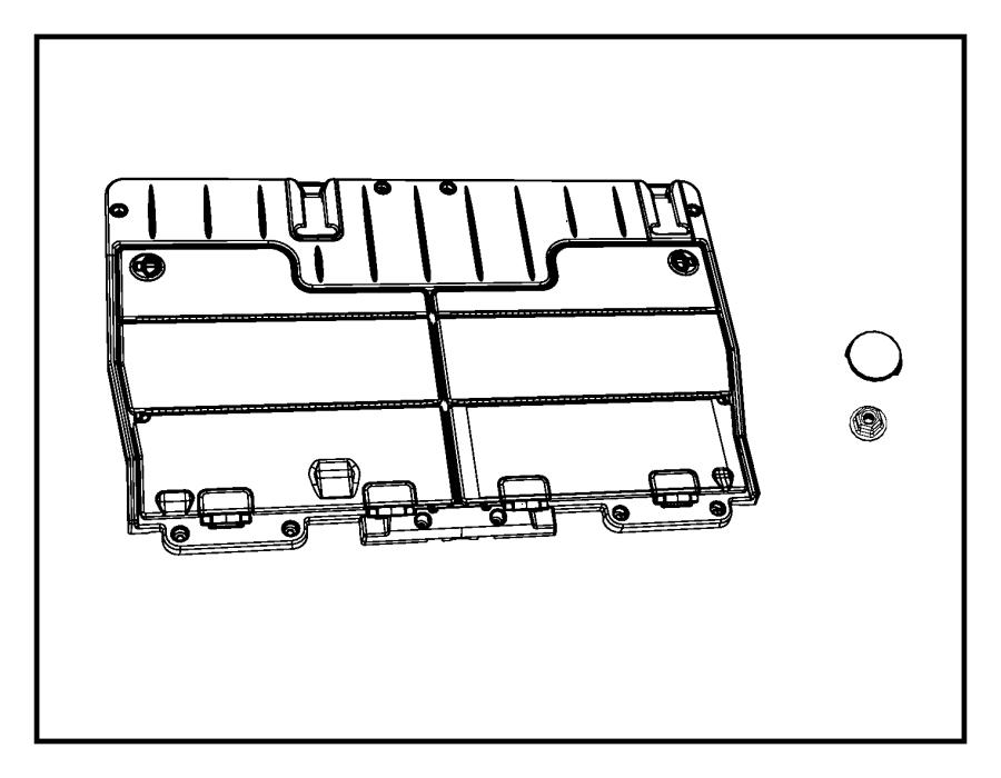 2006 Chrysler Town & Country Rod. Hinge locking. Trim