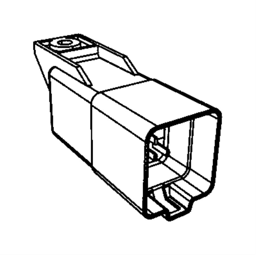 2016 Jeep Wrangler Module. Glow plug. Modules, compartment