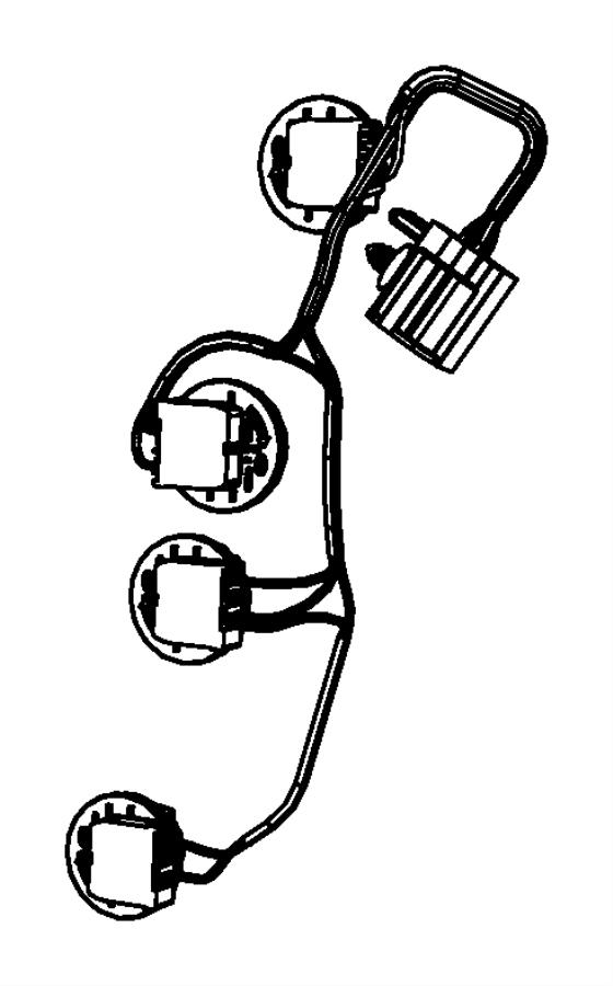 2010 Dodge Grand Caravan Wiring. Taillamp. Lamps, rear