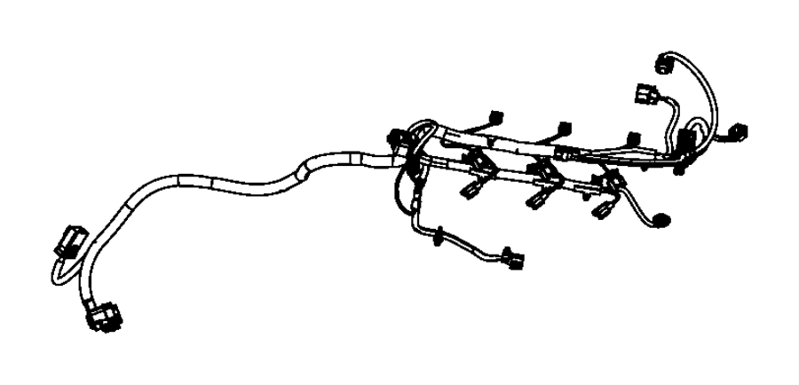 Dodge Grand Caravan Wiring. Jumper. Powertrain, mopar, gas