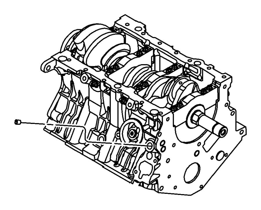 2009 Dodge Grand Caravan Engine. Long block. [california