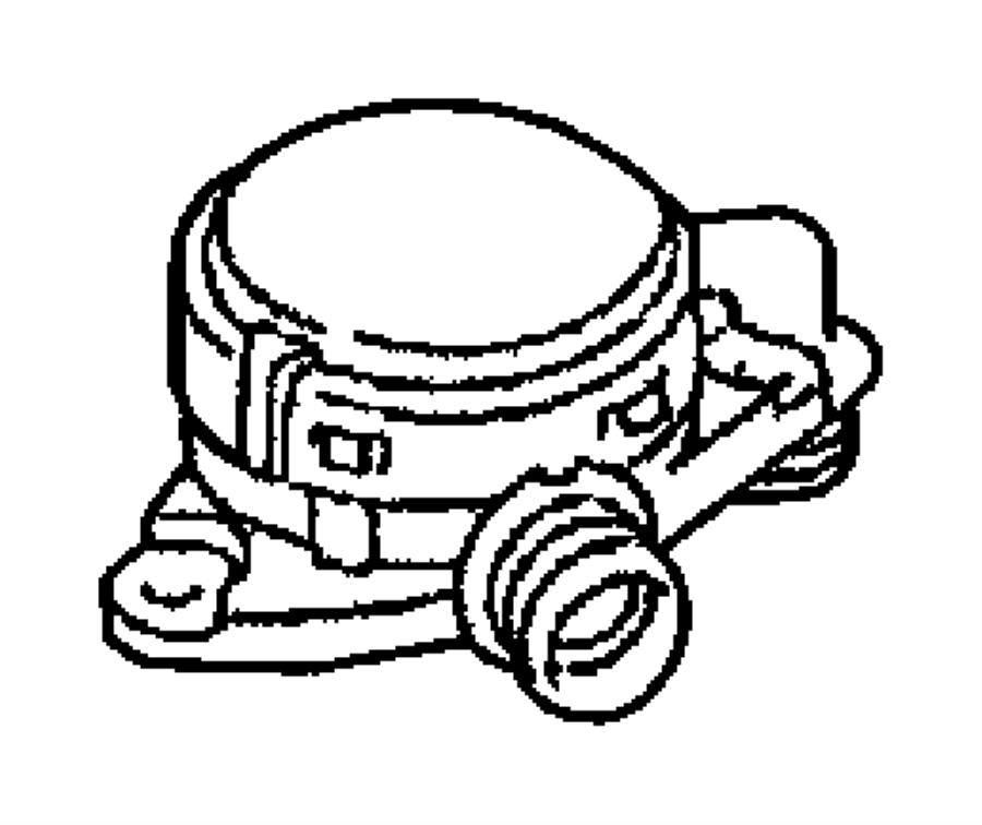 Jeep Grand Cherokee Valve. Pcv. Diesel, crankcase, engine