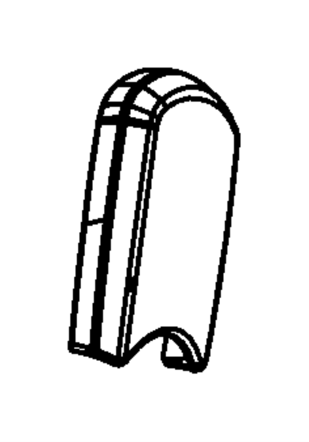 2008 Dodge NITRO Shield. Fold flat. Trim: [cloth low-back