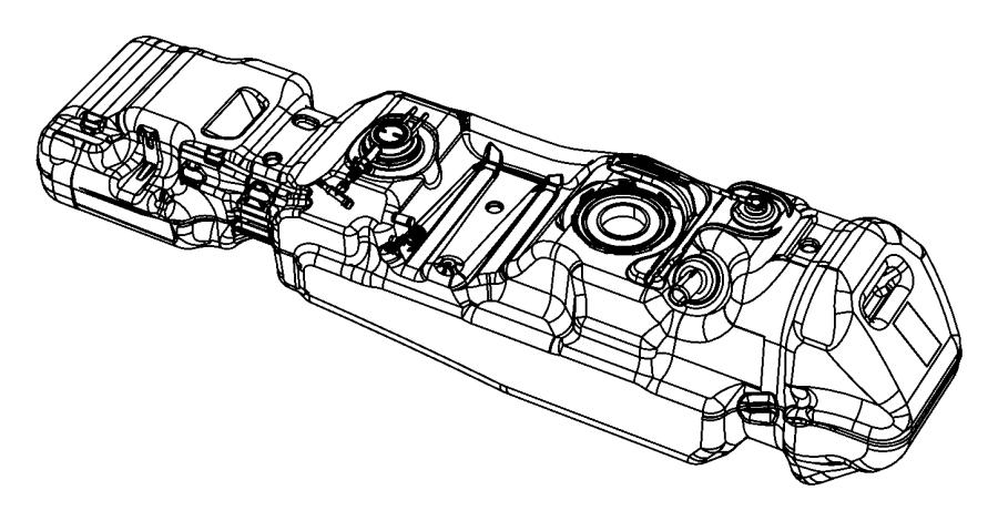 2006 Dodge Dakota Tank. Fuel. Gallon, flexible, engines