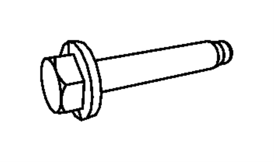 2008 Dodge Sprinter 2500 Bolt. Torx head. Injection pump