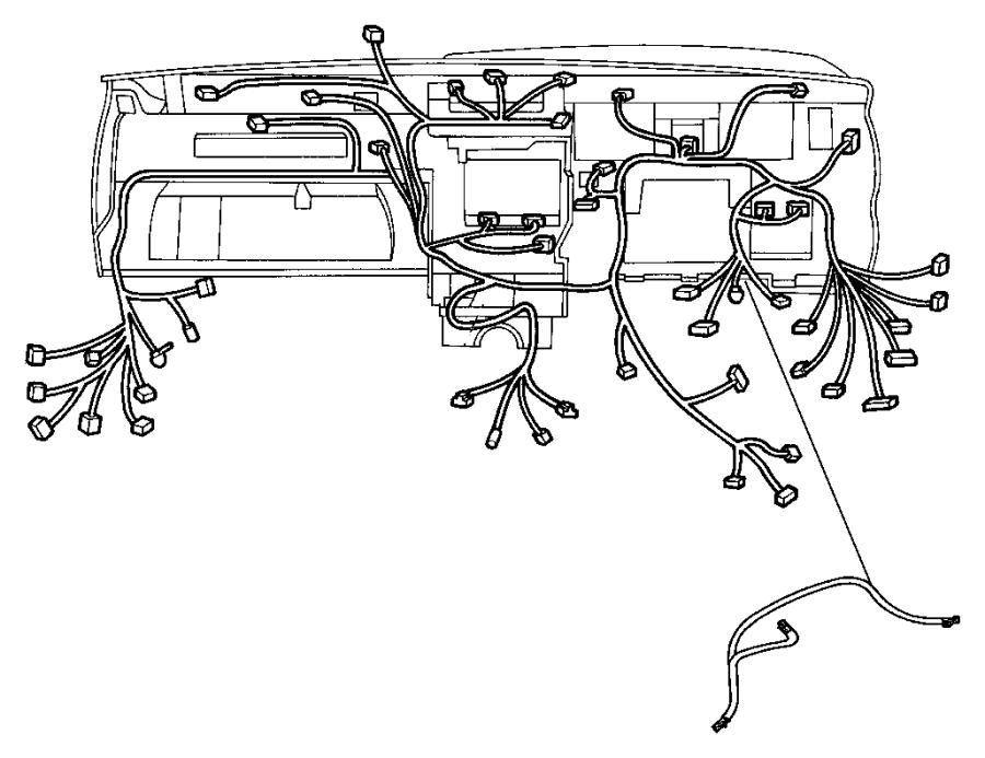 2010 Jeep Commander Wiring. Instrument panel