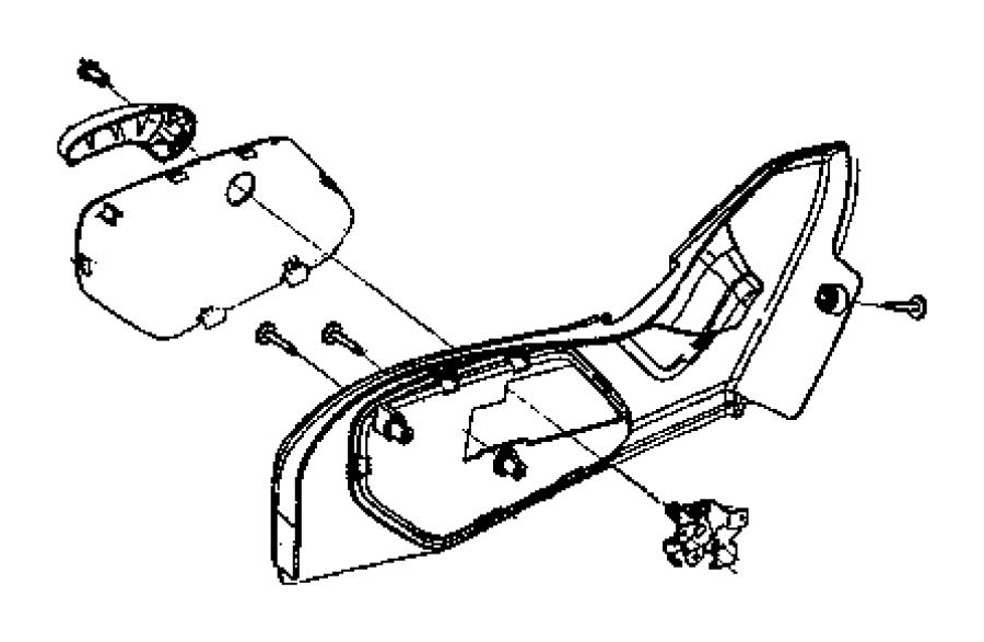 2009 Jeep Commander Shield. Seat adjuster. Trim: [cloth