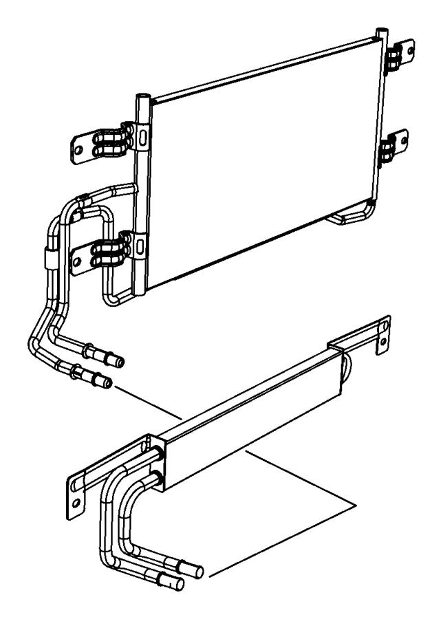 2012 Dodge Ram 2500 Line. Used for: oil cooler pressure