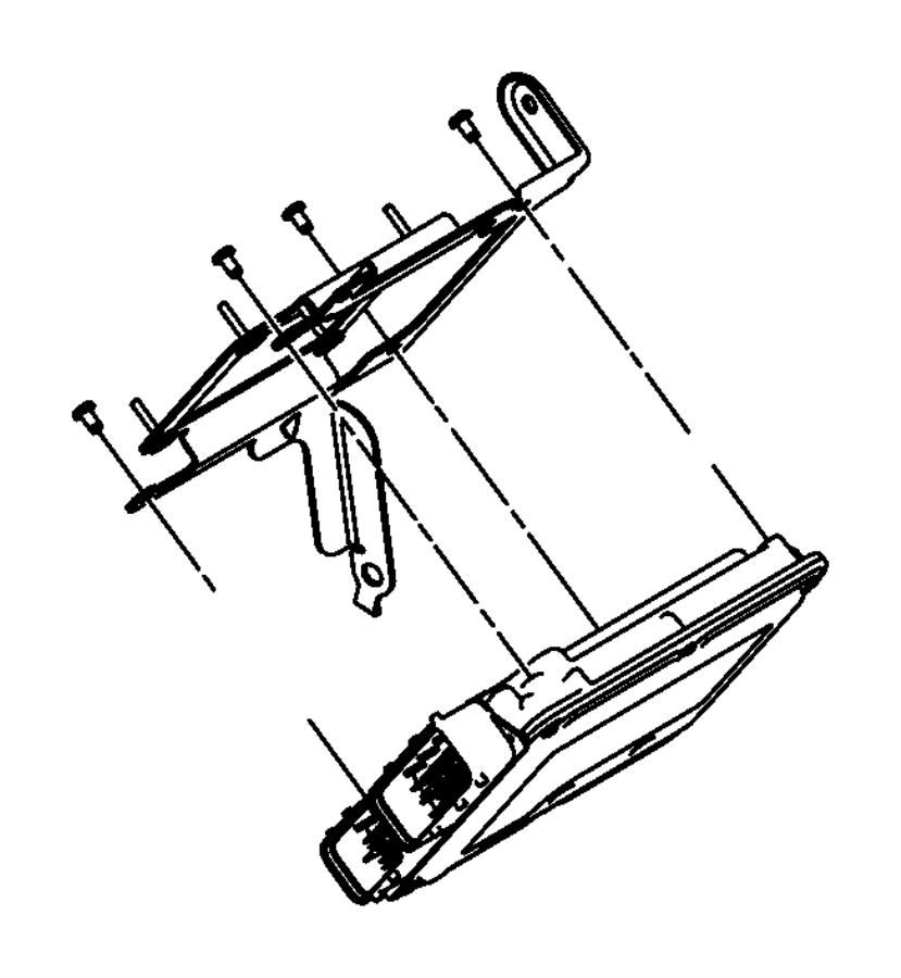 Dodge Avenger Module. Powertrain control. Generic