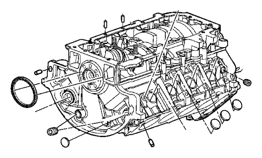 Dodge Durango Engine. Short block. Crew cab, new part for