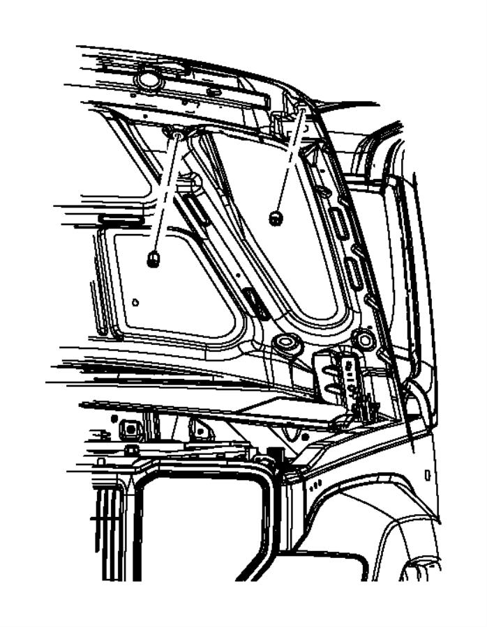 2008 Jeep Liberty Bumper. Door ajar switch. Security