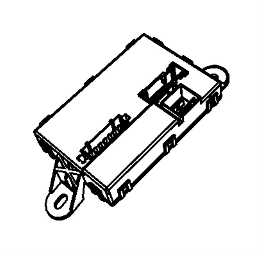 Chrysler Sebring Module. Convertible top control. [power