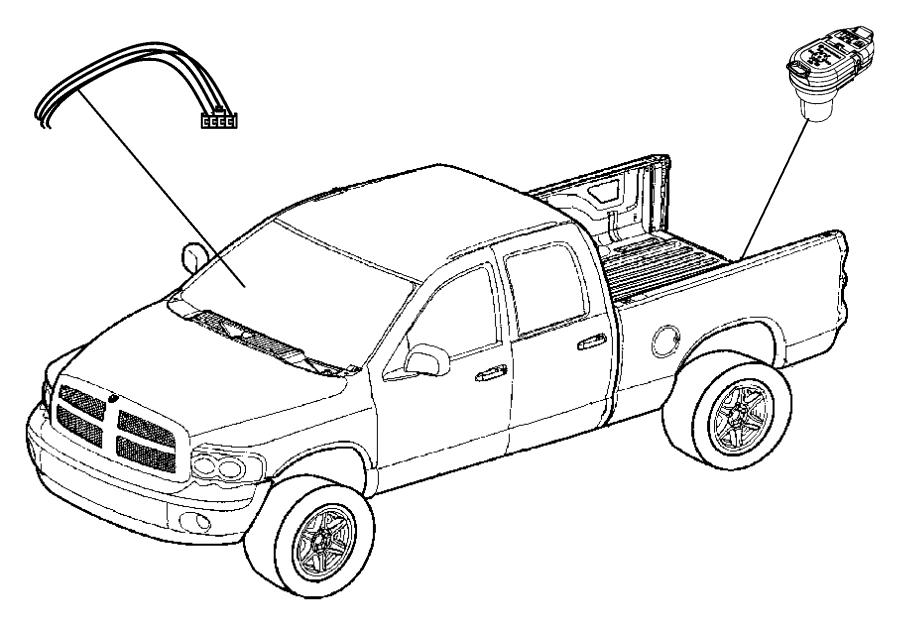 2011 Dodge Ram 2500 Wiring kit. Trailer tow. Electric