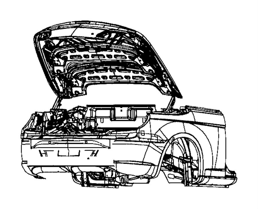 2010 Chrysler Sebring Decklid. Body, trim, mopar, interior