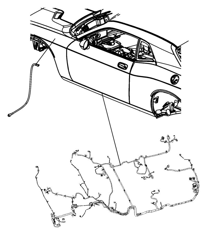 2010 Dodge Challenger Wiring. Jumper. Ground. Electrical