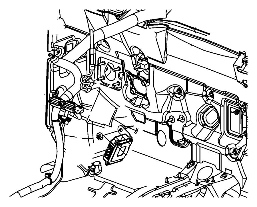 2008 Dodge Caliber Module. Transmission control. [cont.var