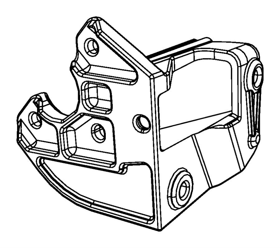 2008 Chrysler Sebring Bracket. Power steering, power