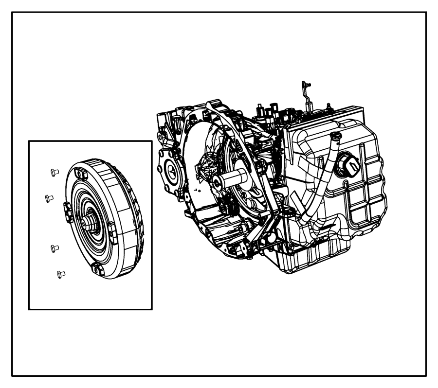 Chrysler Town & Country Transmission kit. With torque