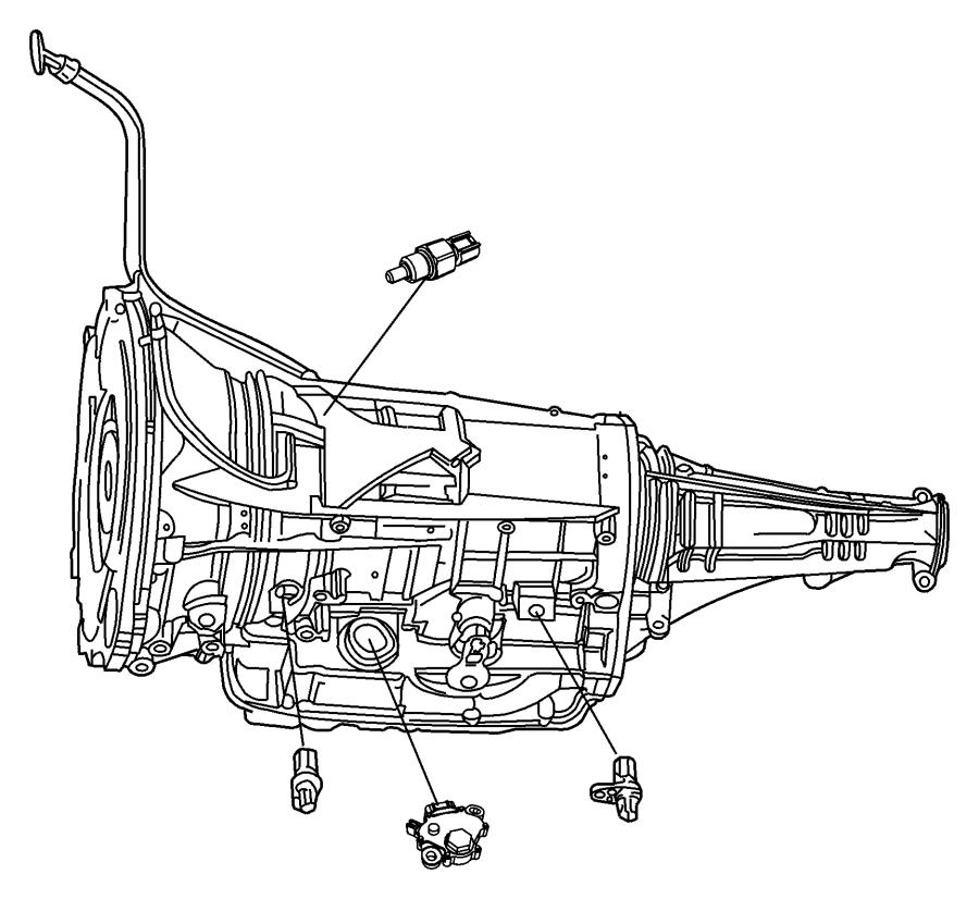 2009 Dodge Ram 3500 Range sensor, switch. Neutral start