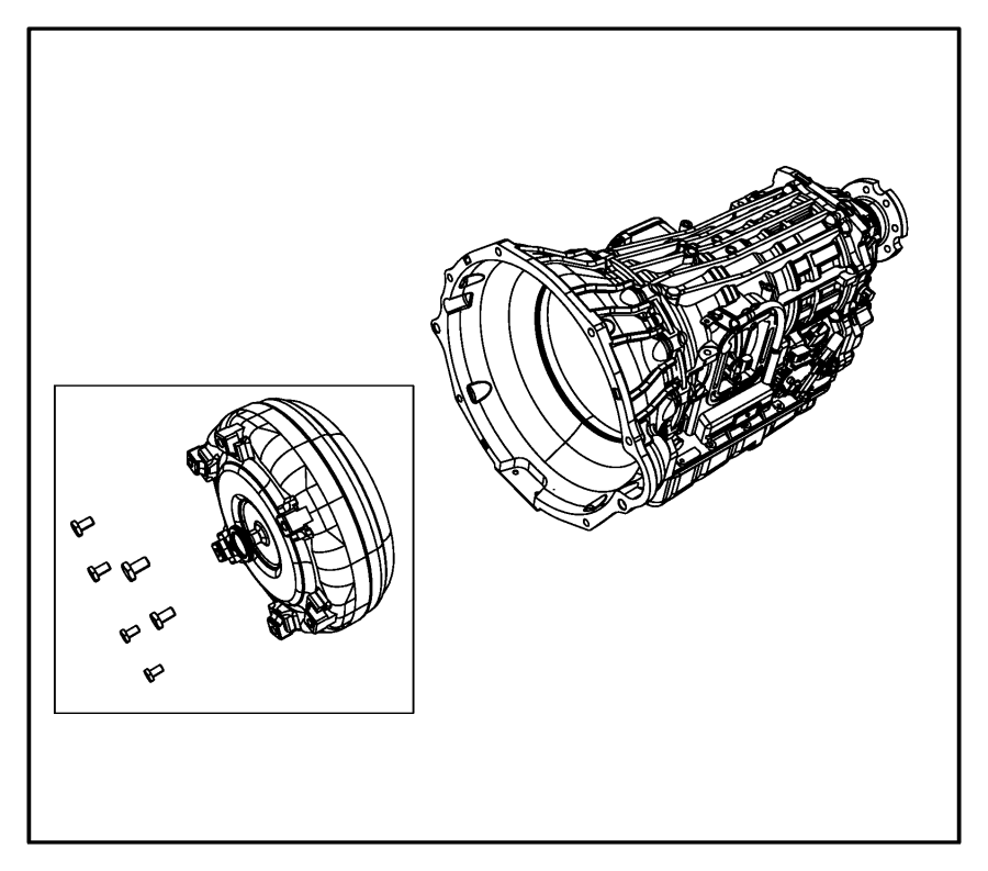 2008 Dodge Ram 3500 Converter kit. Torque. Remanufactured