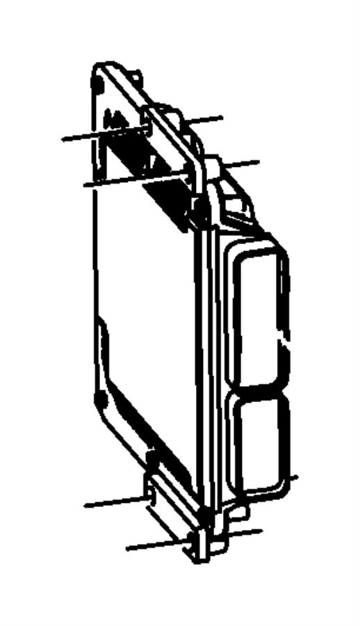 Chrysler PT Cruiser Module. Powertrain control. [[federal