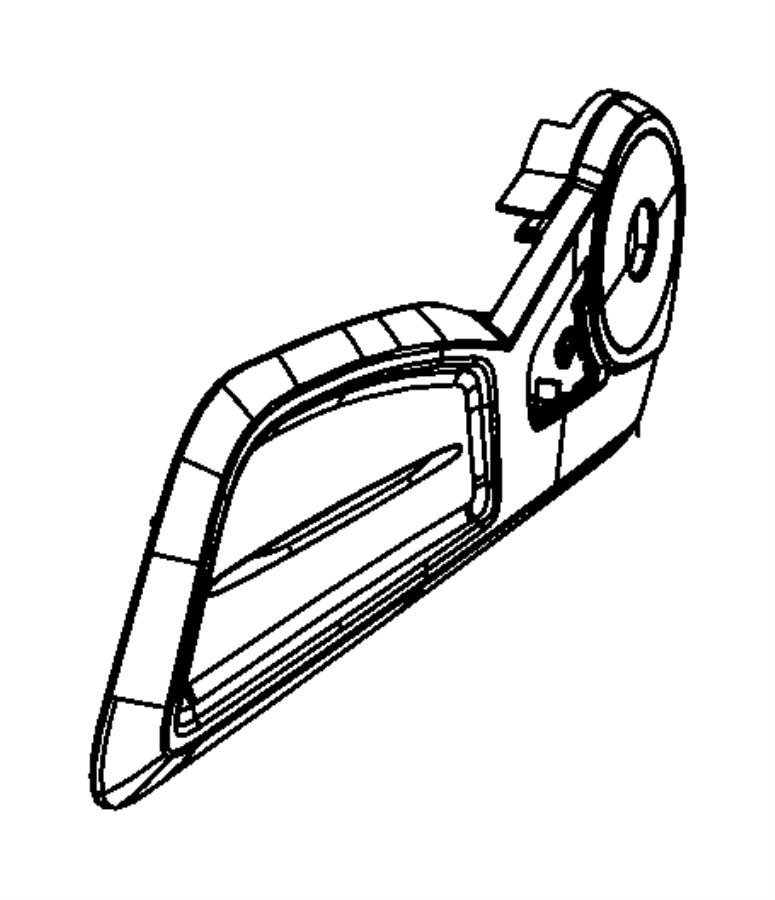 Chrysler PT Cruiser Shield. Driver outboard, seat. Left