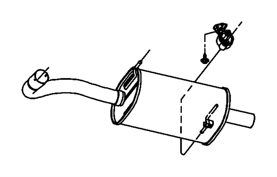 2002 Chrysler Voyager Rivet. 197 grip.187.375. Pexhaust