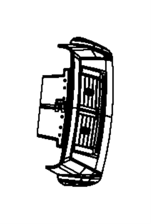 2008 Chrysler 300 Vent. Center console. Trim: [all trim
