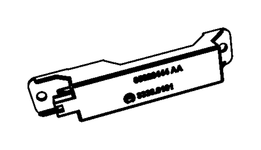 2015 Dodge Grand Caravan Antenna. Keyless entry, passive