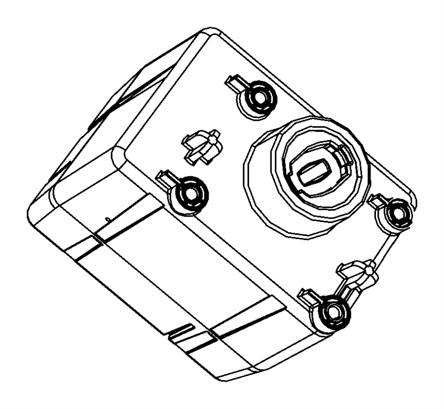 2011 Dodge Ram 1500 Receiver. Wireless ignition node. Trim