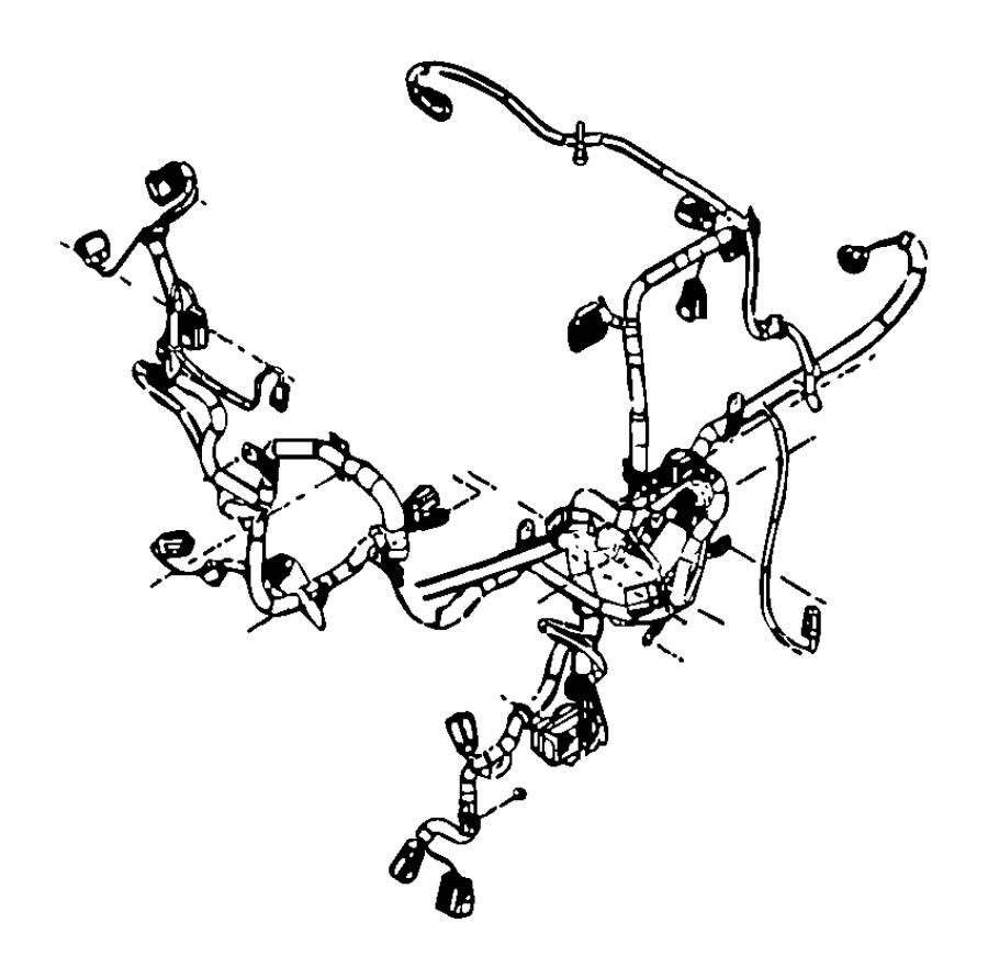 Dodge Ram 2500 Wiring. Engine. [export emissions], stamped