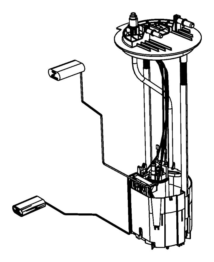 2014 Ram 5500 Module kit. Fuel pump/level unit. Gallon