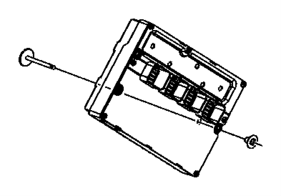 Jeep Grand Cherokee Module. Powertrain control