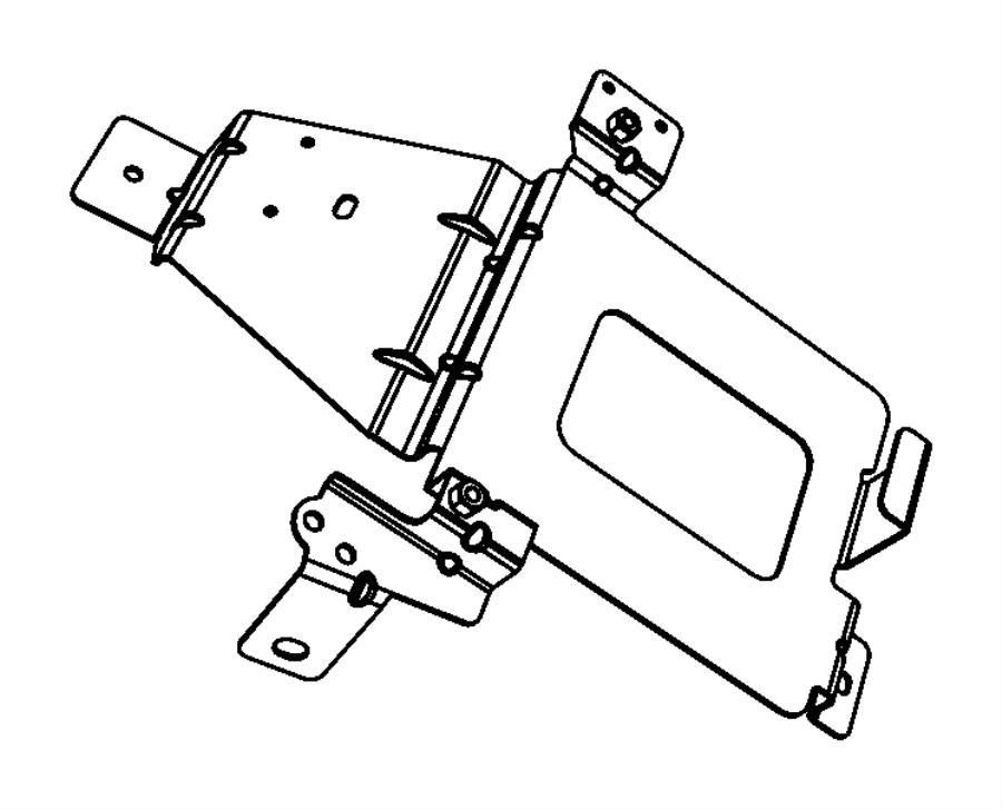 Jeep Grand Cherokee Bracket. Powertrain control module