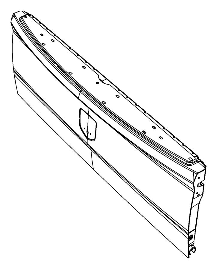 2016 Ram 3500 Tailgate. [pickup box], [pickup box] or